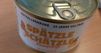Desaster-Foodblogger: Spätzle-Schätzle